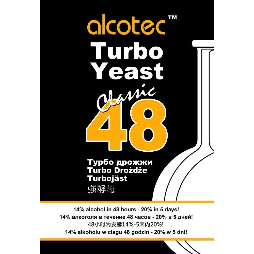 Дрожжи спиртовые Alcotec Turbo 48