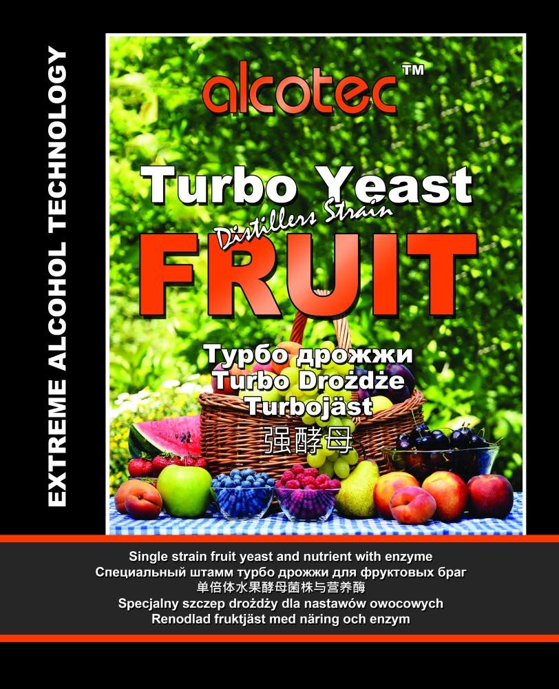 Дрожжи спиртовые Alcotec Turbo Fruit