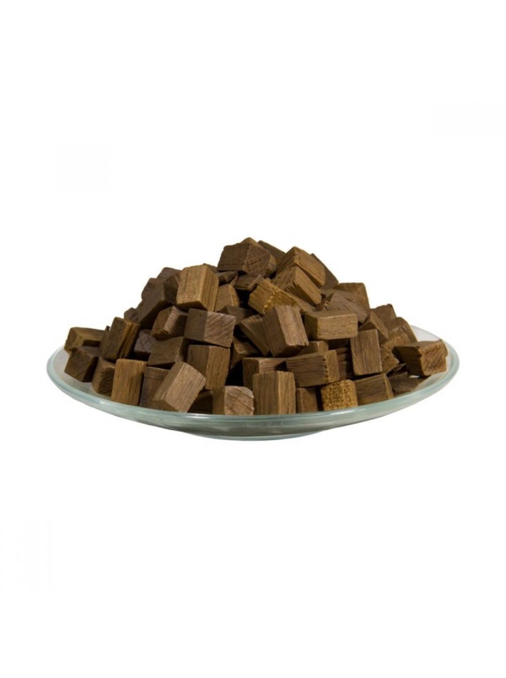 Дубовые кубики (средний обжиг), 1 кг