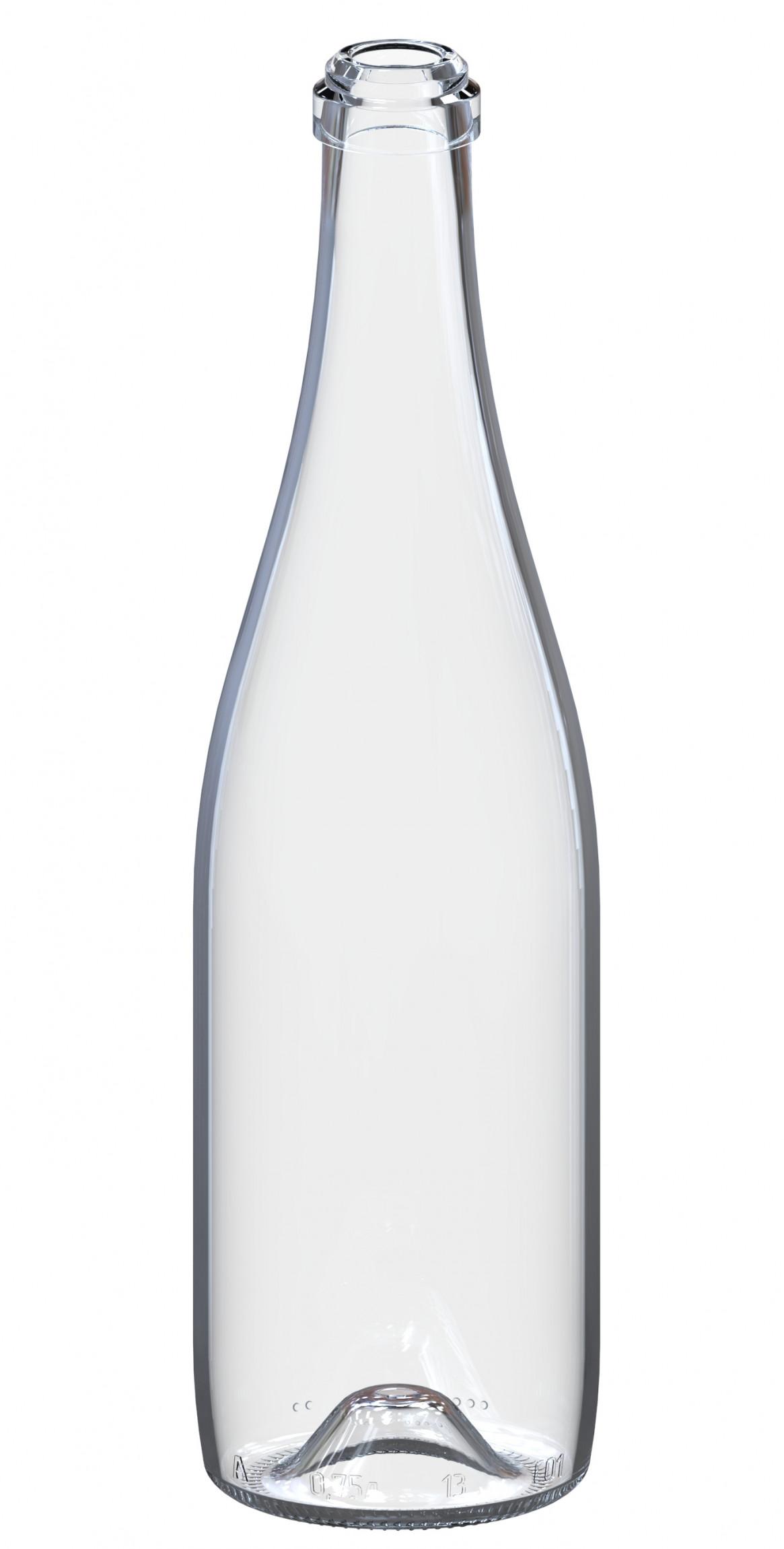 """Бутылка """"Шампань"""" 0,75 л прозрачная (9 шт.)"""