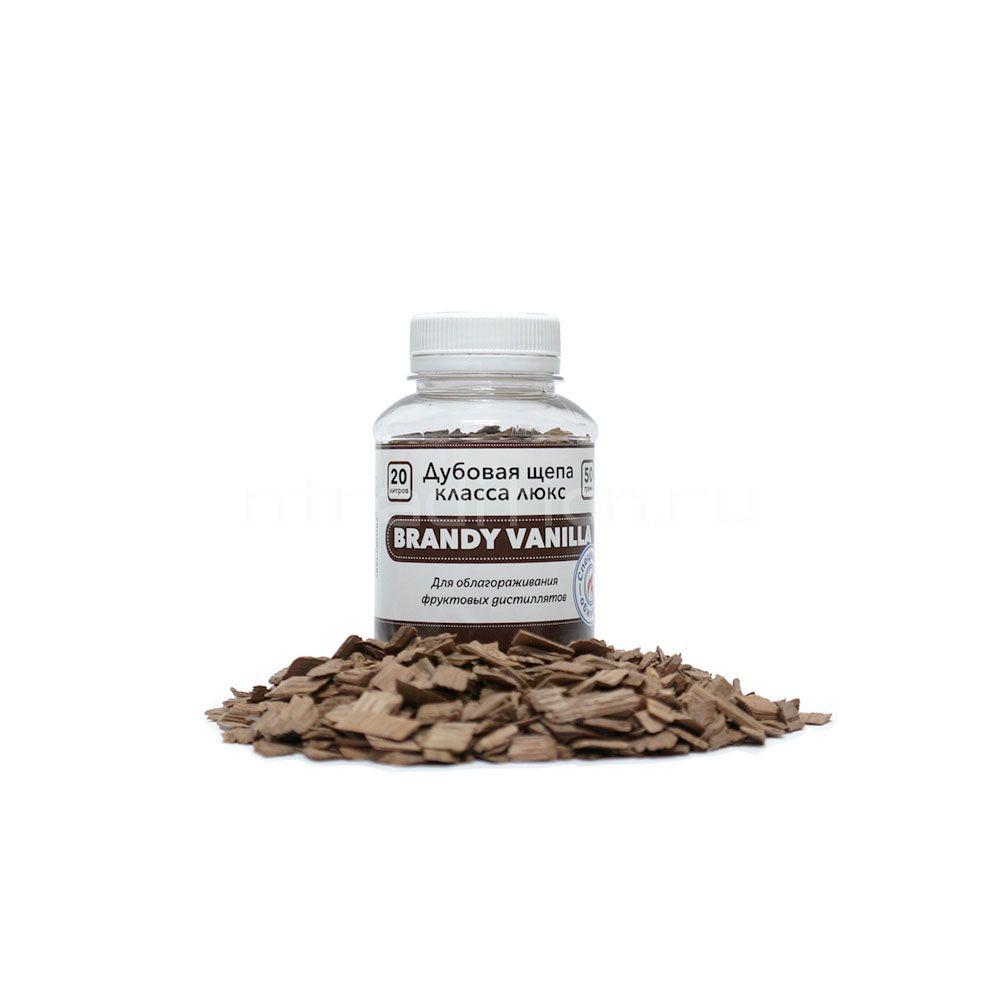 Щепа дубовая Brandy Vanilla (Франция, специальный обжиг), 50 г