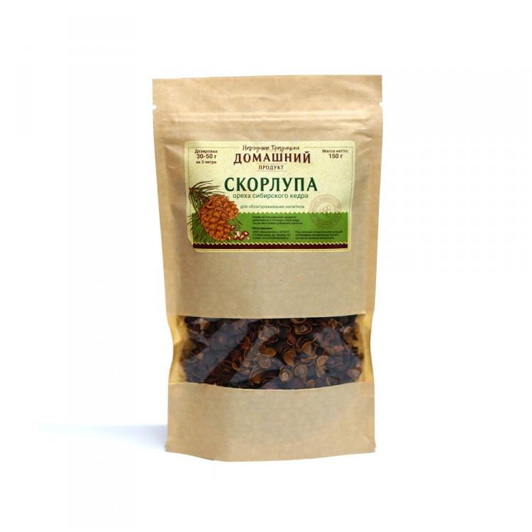 Скорлупа ореха сибирского кедра, 150 г
