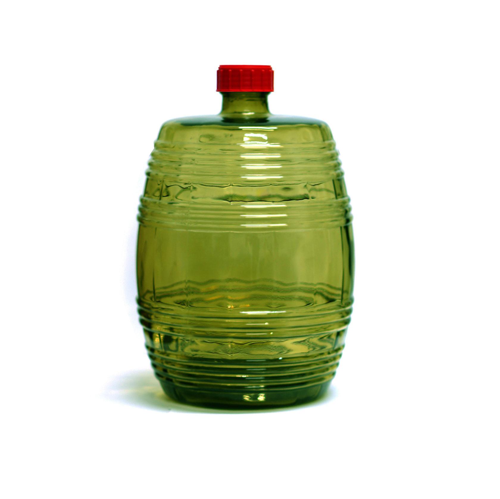"""Бутыль винная 10 л """"Бариле"""" (Зеленая)"""