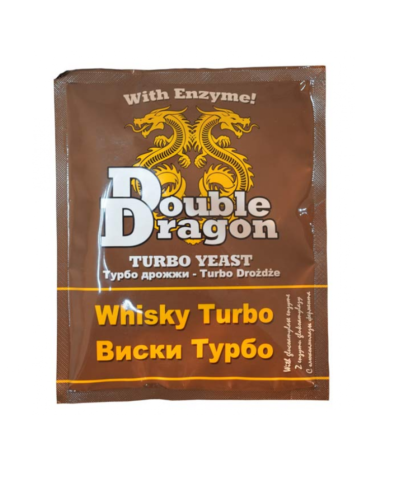 Дрожжи Double Dragon Whisky Turbo