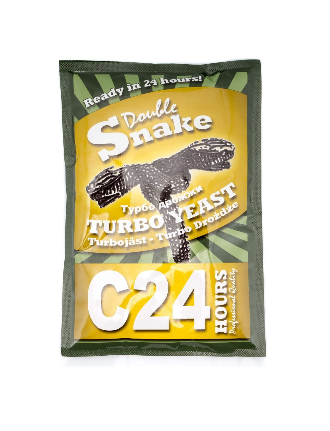 Дрожжи Double Snake C24 Turbo