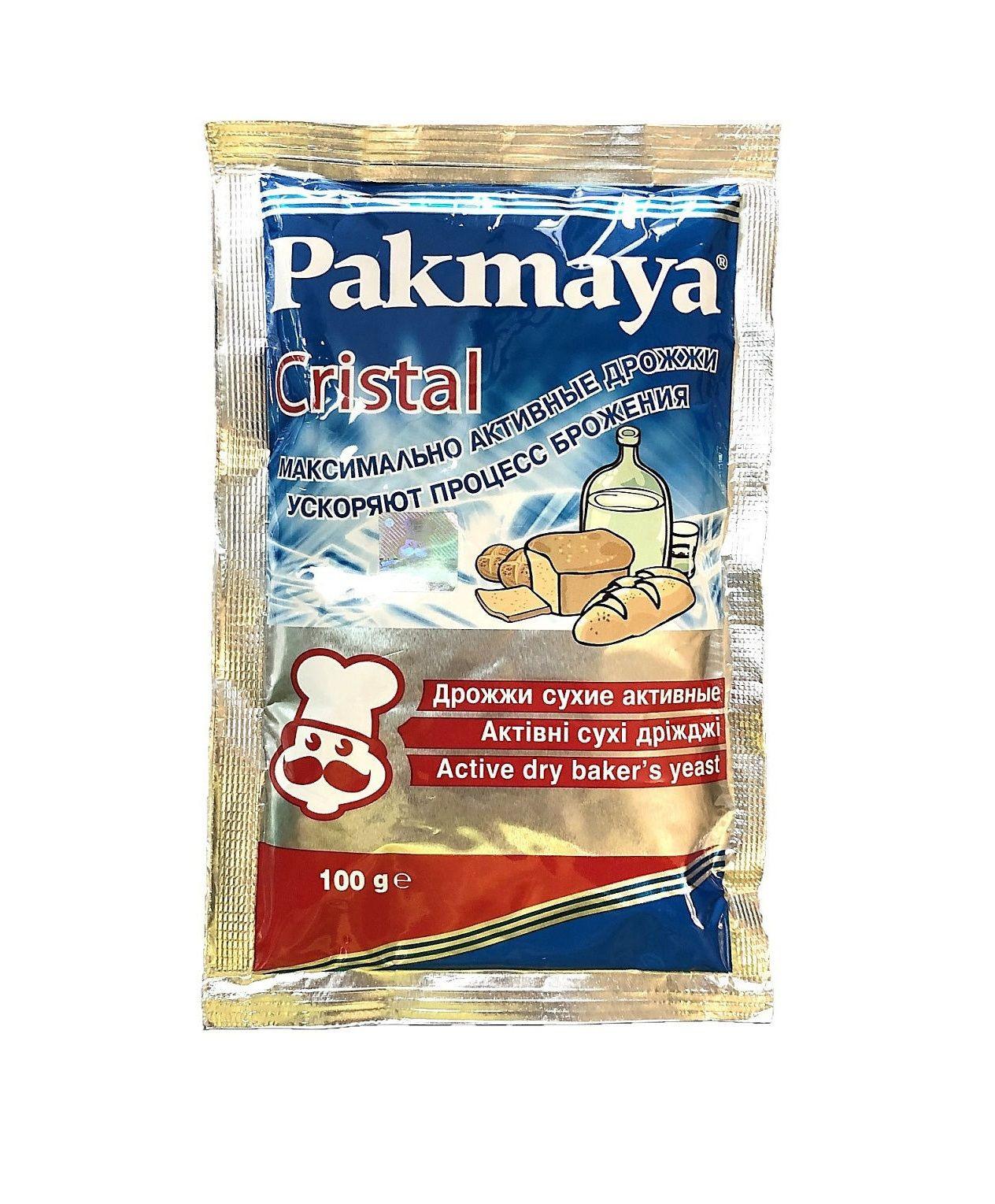 Дрожжи сухие Pakmaya Cristal (Пакмайя Кристал), 100 г