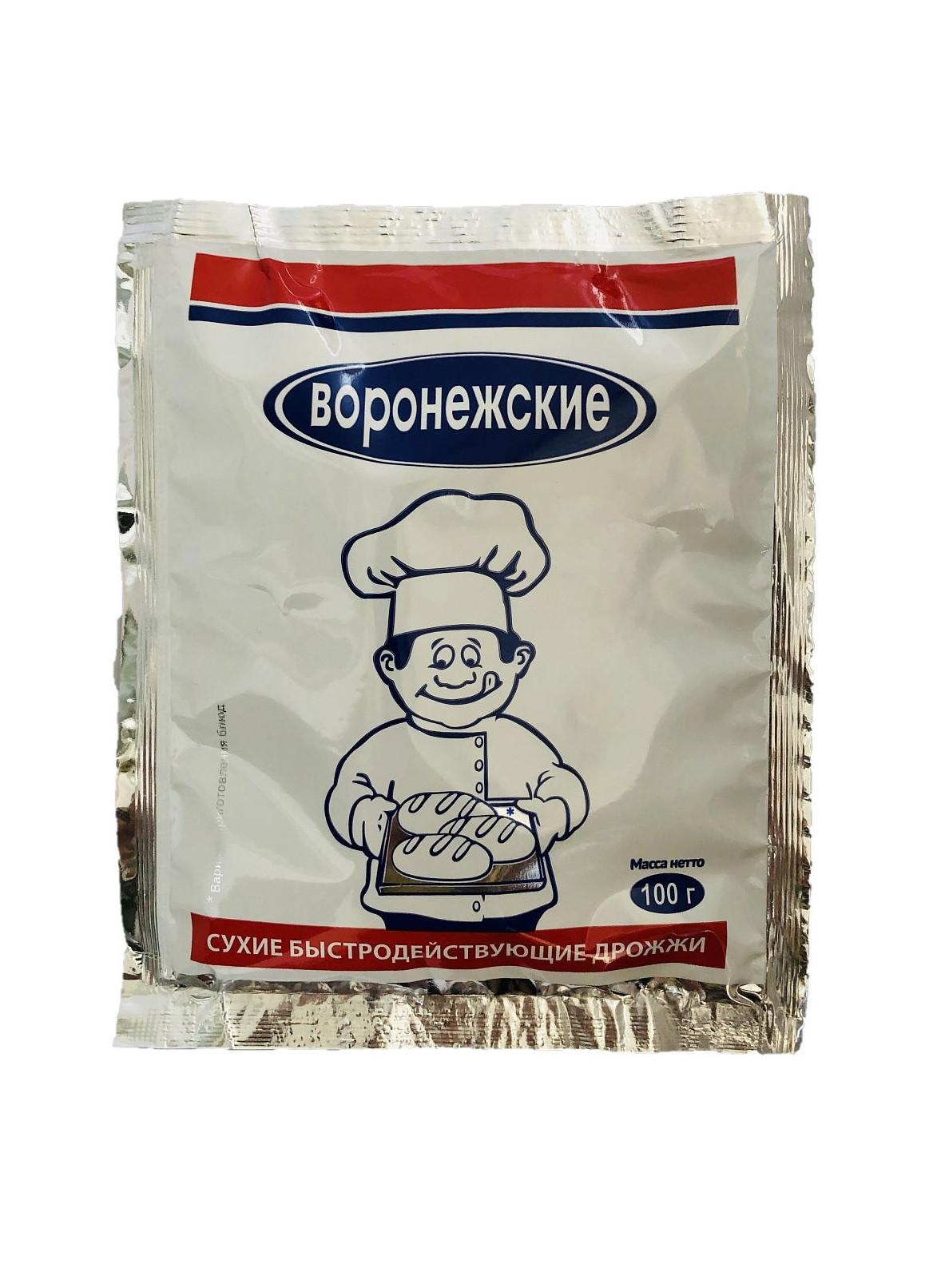 Дрожжи сухие Воронежские, 100 г