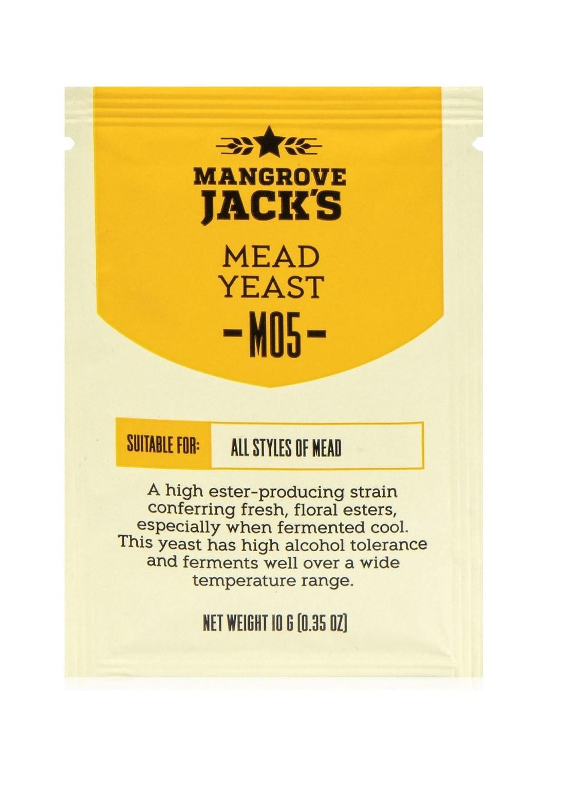 "Дрожжи для медовухи Mangrove Jack's ""Mead M05"""