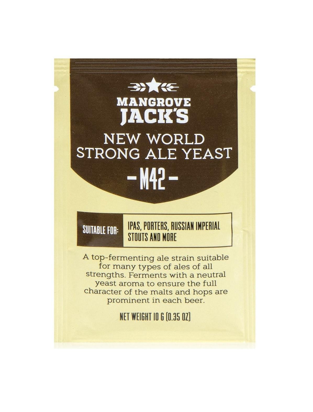 "Пивные дрожжи Mangrove Jack's ""New World Strong Ale M42"""