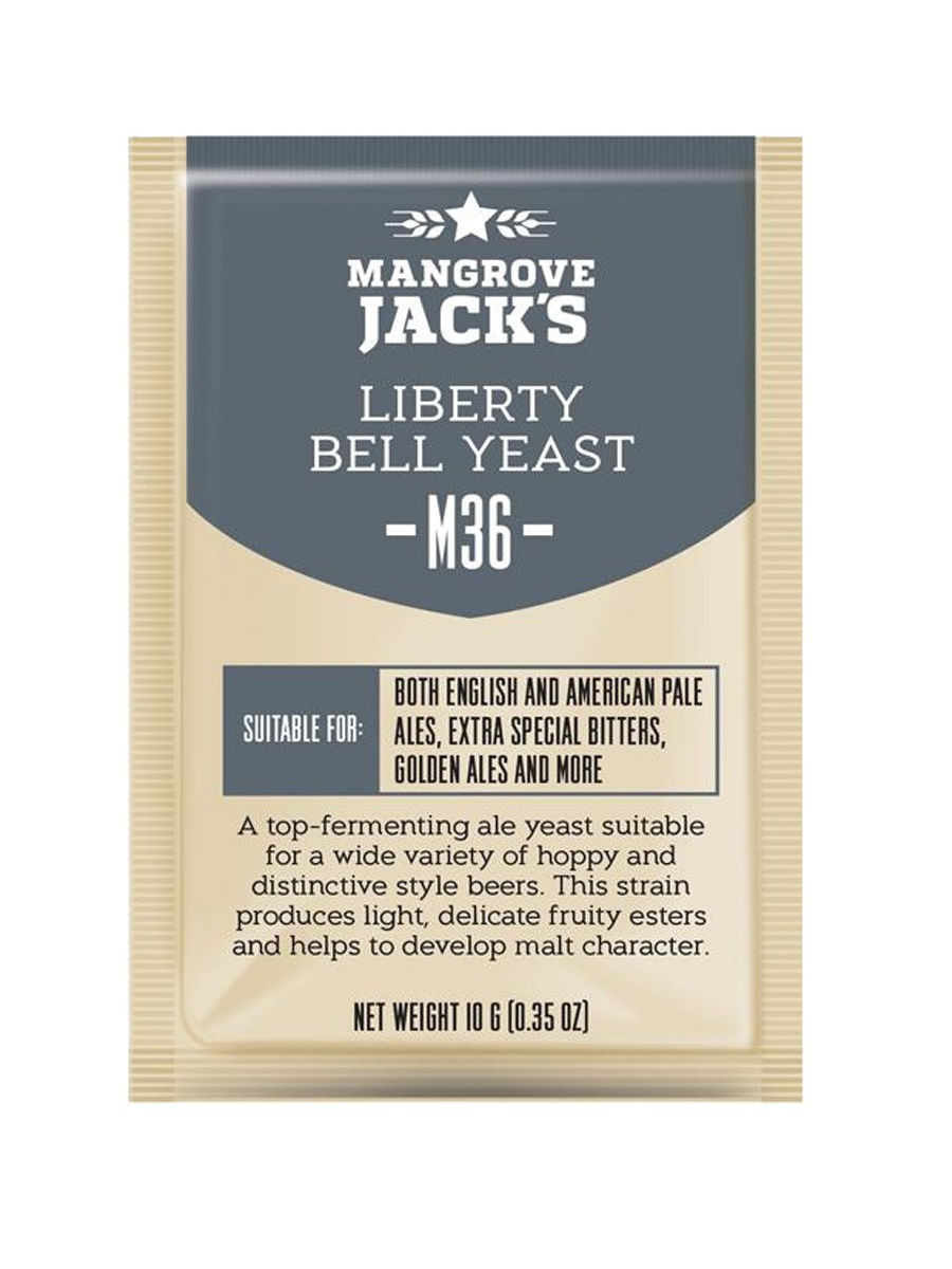 "Пивные дрожжи Mangrove Jack's ""Liberty Bell Ale M36"""