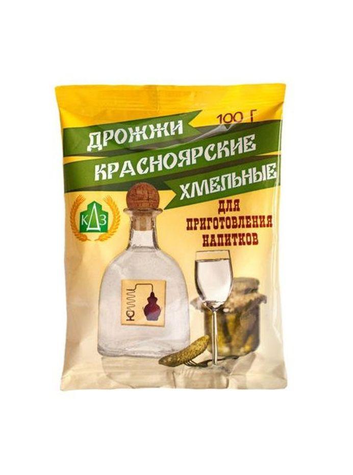 Дрожжи сухие Красноярские Хмельные, 100 г