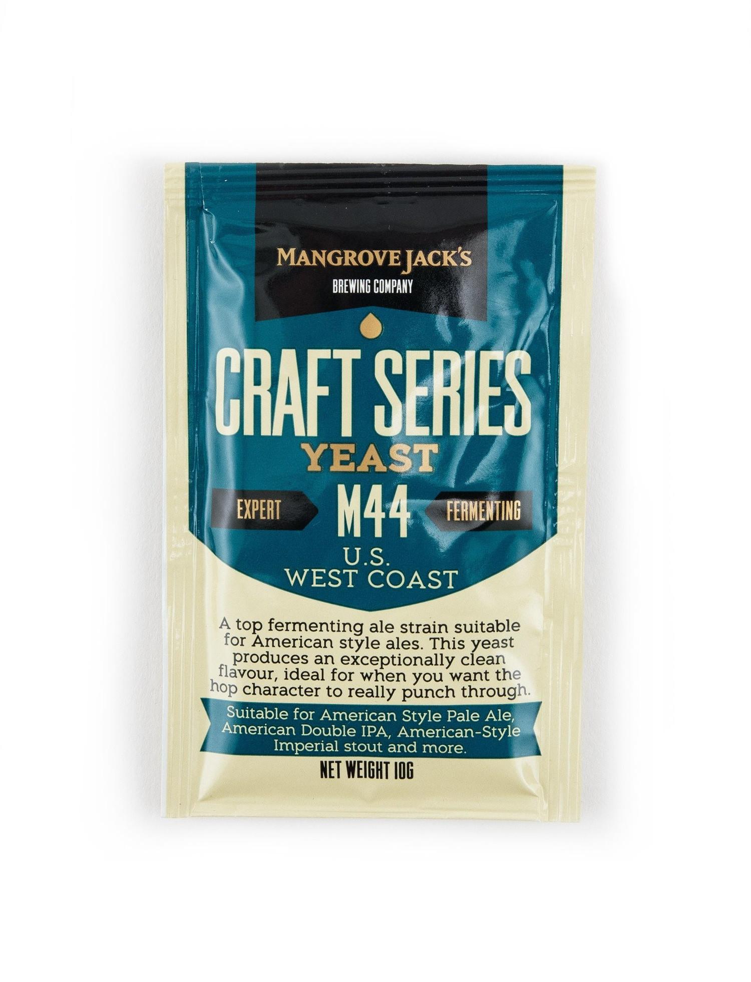 "Пивные дрожжи Mangrove Jack's ""US West Coast M44"""