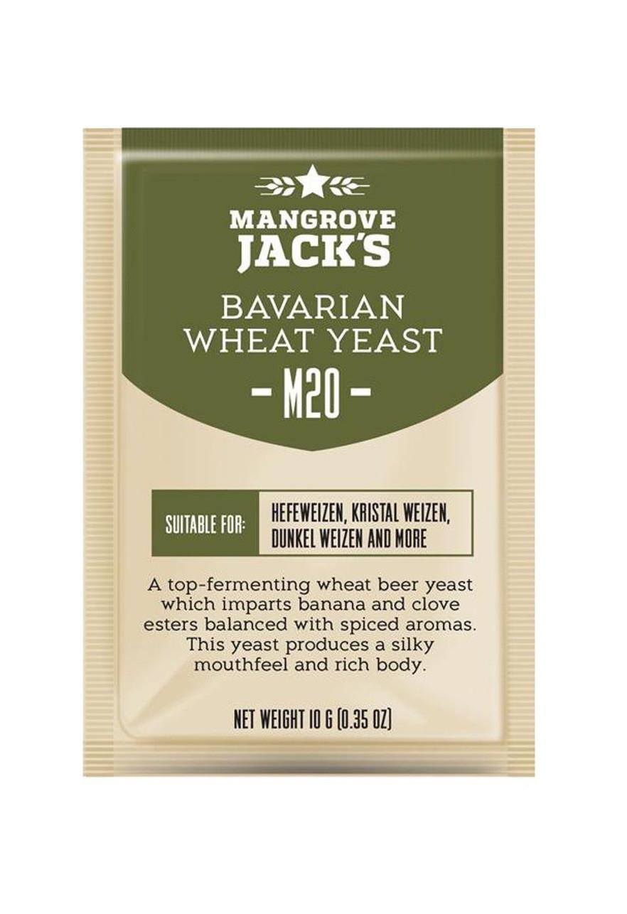 "Пивные дрожжи Mangrove Jack's ""Bavarian Wheat M20"""