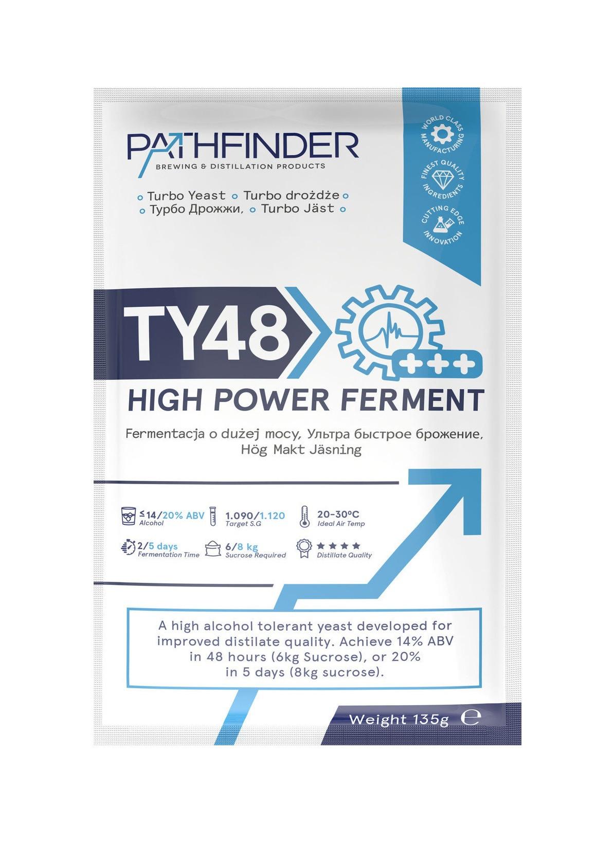 Дрожжи PathFinder 48 Turbo Ferment