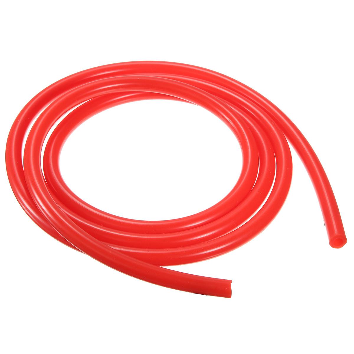 Трубка ПВХ под быстросъемы 10 х 7,5 мм красная (1 м)