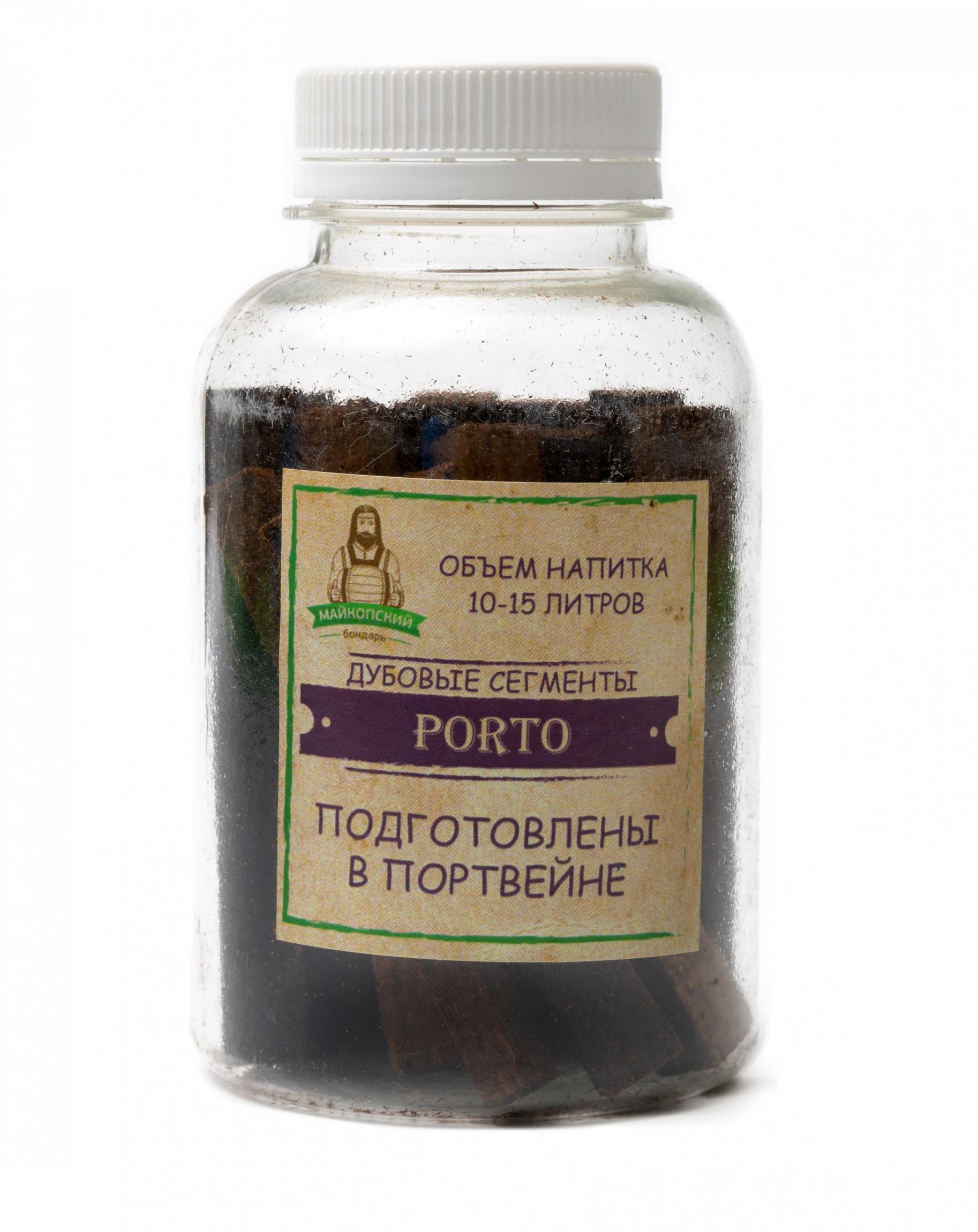 Дубовые сегменты Porto (Майкопский бондарь)