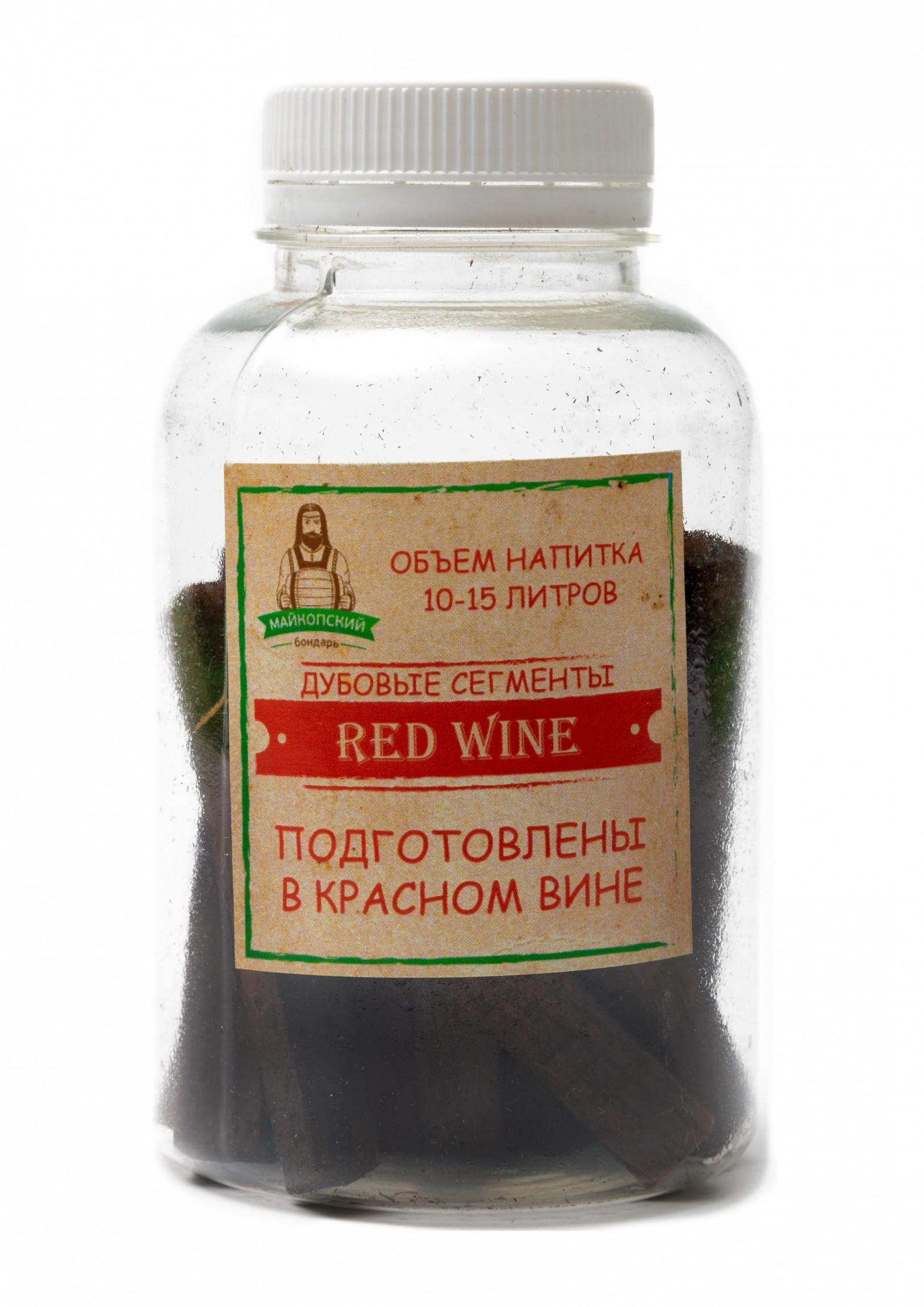 Дубовые сегменты Red Wine (Майкопский бондарь)