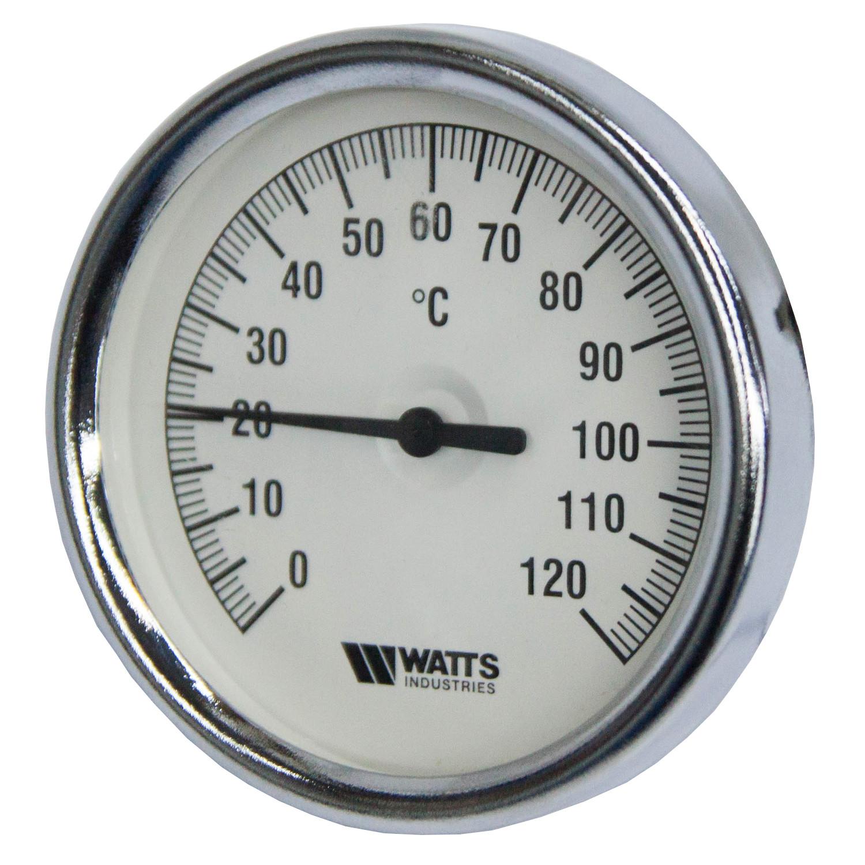 Термометр биметаллический Watts (0-120°C)